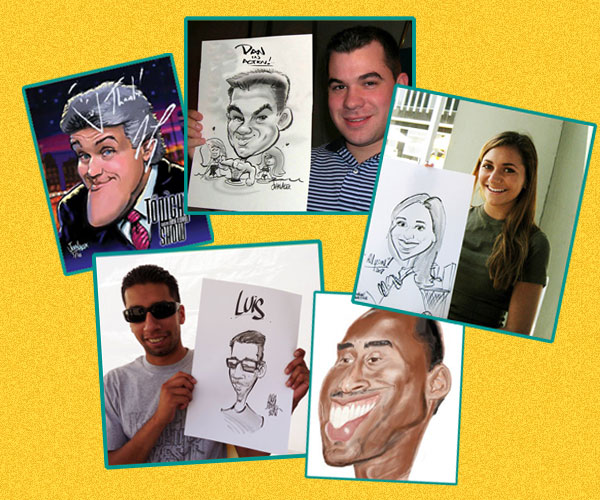Caricature Artists | Life Of The Party