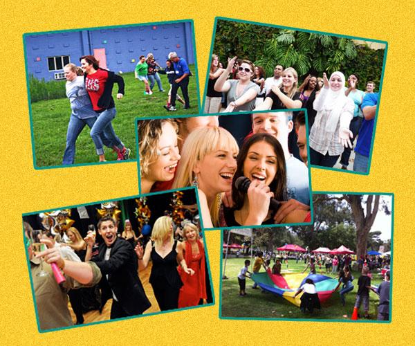 Games & Activities Coordinators   Life Of The Party