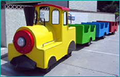 Small Trackless Train