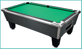 Pool Table Green