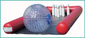 Bubble-Bowling